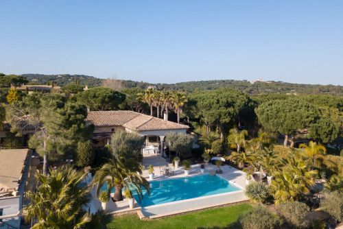Vacation Like a TV Star in this Luxurious Pampelonne Villa