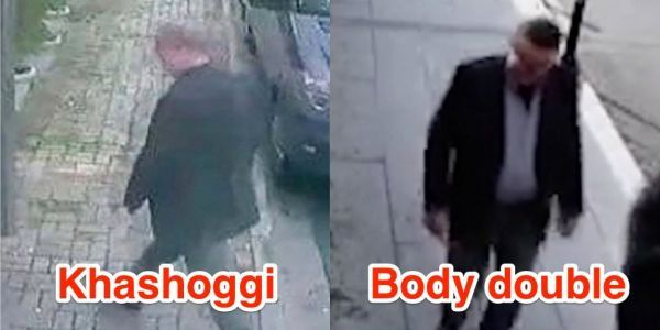 Saudis reportedly planned to cover up Khashoggi's death with a body double but abandoned that idea because of 'flawed' footage