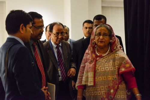 'He didn't make any comment about refugees' Bangladesh Prime Minister expects no help from Trump on Myanmar crisis