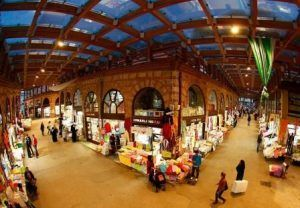 Traditional Turkish bazaars along Caspian coast attract many international visitors