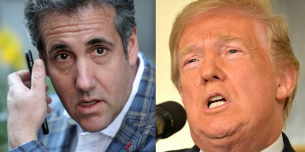 Trump and Michael Cohen don't see eye-to-eye on the biggest issue in his case