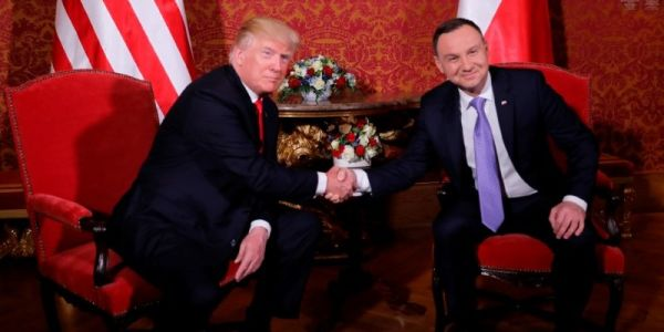 Poland says it's willing to pay $2 billion to build 'Fort Trump,' and Trump sounds interested in the offer