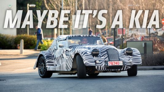 It's Kind of Amazing That Morgan Even Bothers to Camo Their New 'Wide Body' Car
