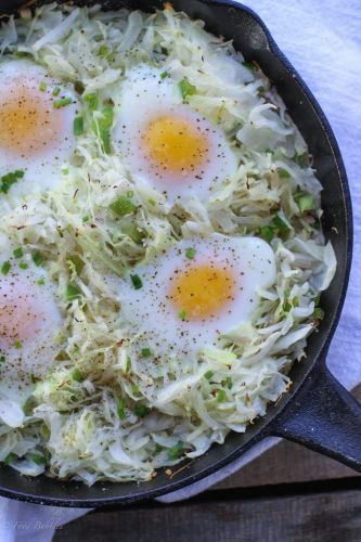 Cabbage Hash Skillet
