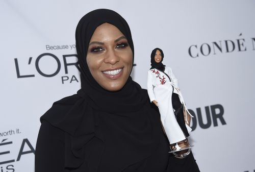 Barbie reveals first hijab-wearing doll modeled after Olympian