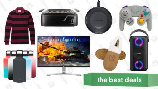 Saturday's Best Deals: Jachs Polos, RAVPower Qi Charger, PowerBeats Pro, LG 4K Monitor, and More