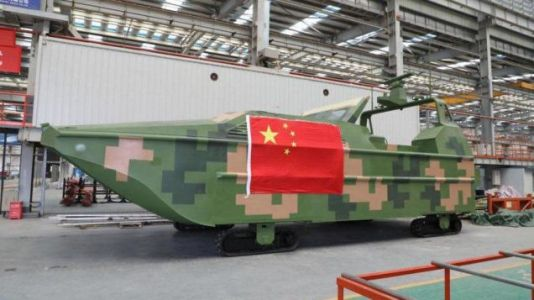 We Can't Tell if China's 'Sea Lizard' Drone-Boat-Tank Thing Is a Harbinger or Gimmick