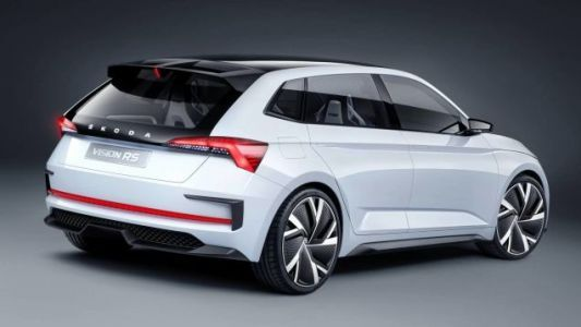 The Skoda Vision RS Concept Brings Hybrid Power to the Hot Hatch World