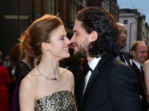 Game Of Thrones Stars Kit Harington And Rose Leslie Are Reportedly Engaged