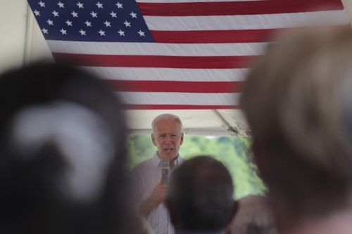 Protesters rail against Biden on deportations