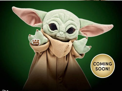 Build-A-Bear says its Baby Yoda stuffed animal is hitting stores soon. Here's what it looks like and how to snag one