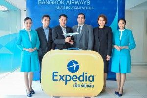 Bangkok Airways Announces Collaboration With Expedia Group Adding New Distributing Channels