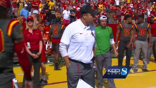 Iowa State coach has 'no issue' if players take a stand
