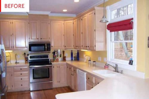 Before & After: A $7,500 Makeover Totally Transformed This Kitchen!