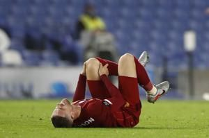 Injured Henderson to miss rest of season for Liverpool