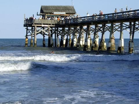 Historic Cocoa Beach Pier Offers Closest Sand and Surf to Orlando's Theme Parks