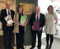 Cavan County Council representatives meet up with senior executives from Tourism Ireland