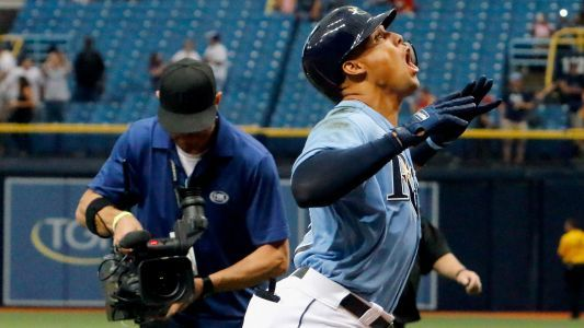 Watch: Rays' Carlos Gomez punishes dugout coolers after strikeout