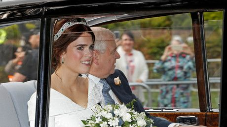'And I hope she'll be a fool': Princess Eugenie wedding mercilessly mocked over Great Gatsby reading