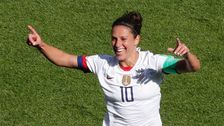 U.S. Beats Chile To Advance To Knockout Round Of 2019 FIFA's Women's World Cup