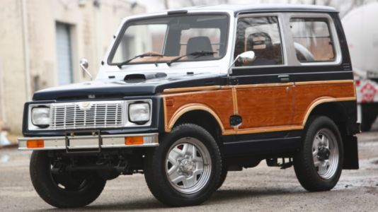 This Jeep Grand Wagoneer-ified Suzuki Jimny Is Cute and Wonderful and for Sale