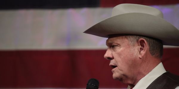 The Republican National Committee just cut off Roy Moore amid the Alabama Senate candidate's sexual misconduct scandal