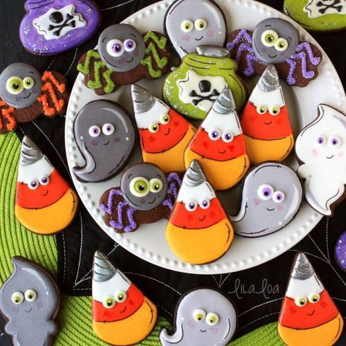 How To Make Decorated Unicorn Candy Corn Cookies