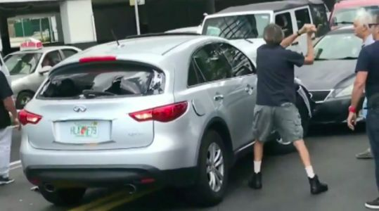 Watch A Hit-And-Run Driver Get Instant Karma In The Form Of A Sledgehammer