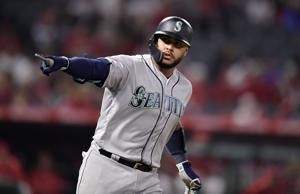 Bour blunders again on bases, Angels fall to Mariners 5-3