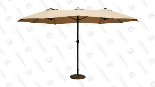 Get This 15-Foot Patio Umbrella For $60 Off Before Summer Ends