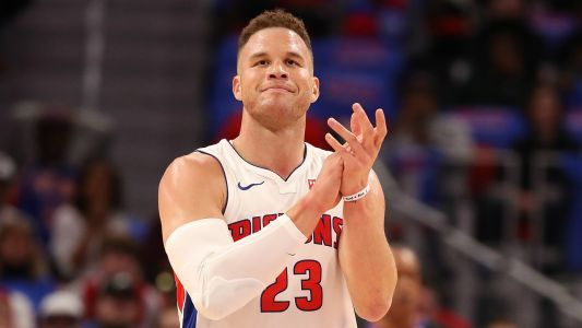 NBA wrap: Pistons' Blake Griffin scores 44 points in first game back in LA vs. Clippers