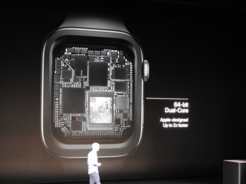 Apple unveils S4 chip for new Apple Watch