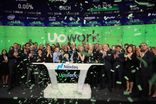 Upwork shares leap 40% as CEO calls IPO 'beginning of a new chapter'