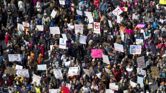 Hundreds of Thousands March For Gun Control Across The U.S