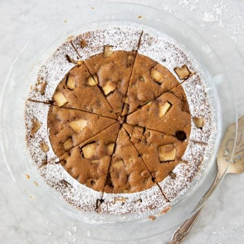 Apple Walnut Pie Cake