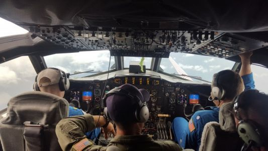 What it's really like to fly into a hurricane, and why it's a critical part of your forecast
