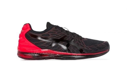 """ASICS' GEL-QUANTUM INFINITY 2 """"Black/Red"""" Colorway Highlights Dynamic Styling"""