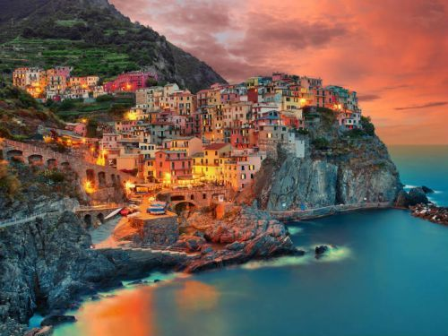 Most Colorful Places in Europe You Can Reach by Train