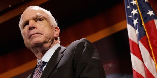 A public debate about John McCain's funeral arrangement is playing out in an oddly public fashion