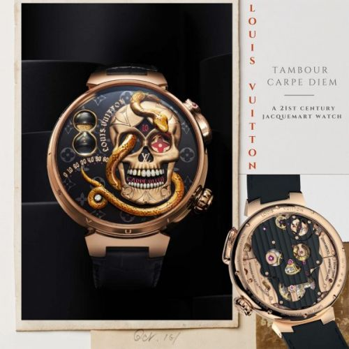 Louis Vuitton - Tambour Carpe Diem