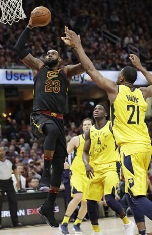 Shot, save: LeBron bails out Cavs with Game 5 buzzer-beater