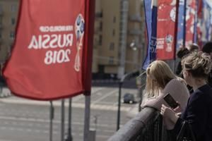 Russian official urges love at World Cup after backlash