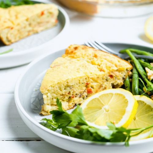 Quick & Easy Canned Salmon Pie