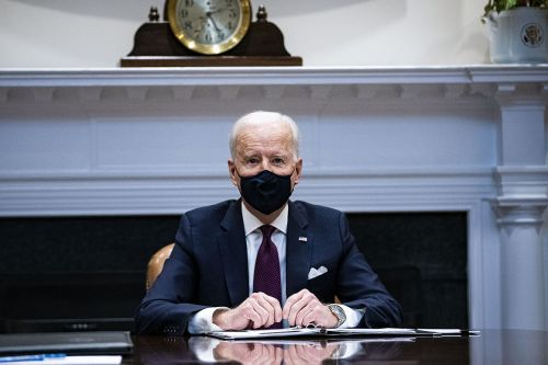 Biden rides a Keep It Simple, Stupid strategy to early success