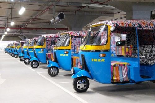IKEA India Will Deliver Goods Using Solar-Powered Electric Rickshaws