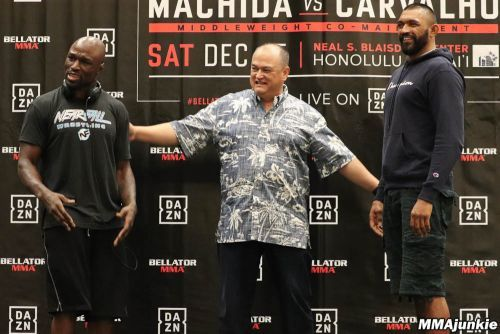 Video: Bellator 213 press conference face-offs, where the locals brought the heat