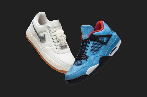 GOAT to Give Away Travis Scott's Nike Collaborations for Black Friday