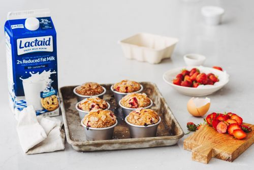 Sky-High Strawberry Muffin Recipe