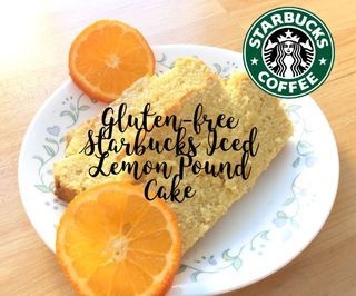 Gluten Free Starbucks Iced Lemon Pound Cake Copycat Recipe
