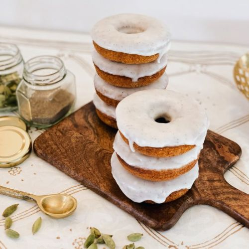 Baked Greek Yogurt Doughnuts